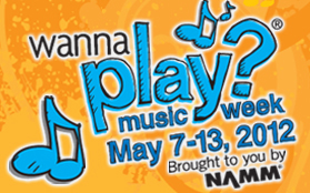NAMM's National Wanna Play Music Week