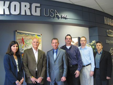 The Korg USA management team.