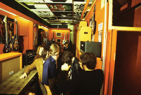 I left the band in 1968 and rented a small, derelict shop in the West End of London.