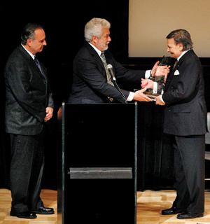 Yamaha Honors Maestro Byron Janis