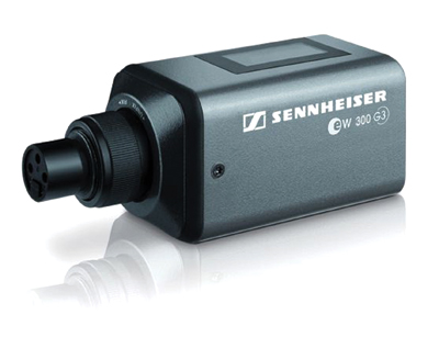 Sennheiser's SKP 300 G3 Plug-On Transmitter