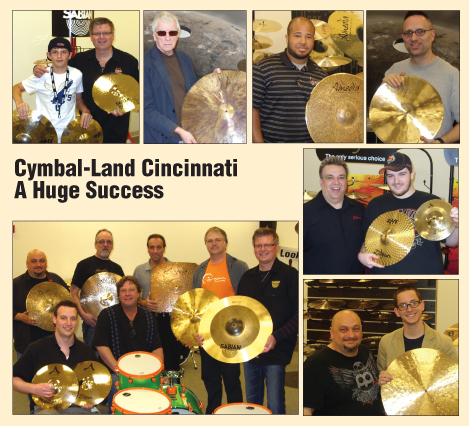 Cymbal-Land Cincinnati A Huge Success