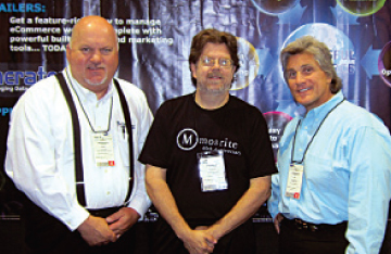 David Hall with Steve Dollinger, Music Solutions and Bill Walzak, Cutting-Edge Solutions.