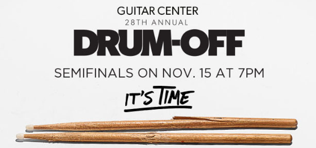 Guitar Center Drum-Off