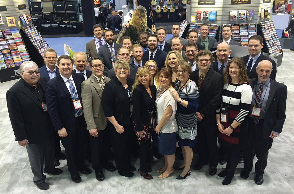 Hal Leonard's team is passionate, capable and committed to the dealer channel.