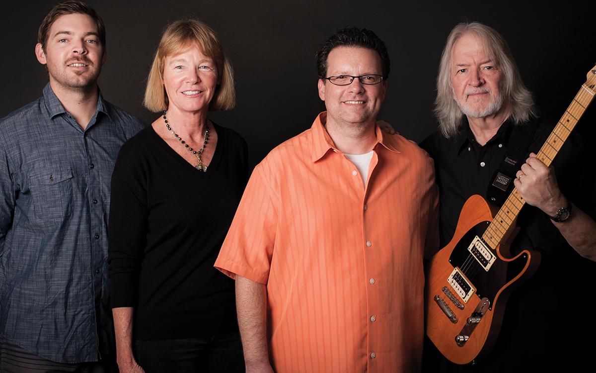 (L-R): Derek Duncan, Cathy Carter Duncan, Max Gutnik and Seymour Duncan.