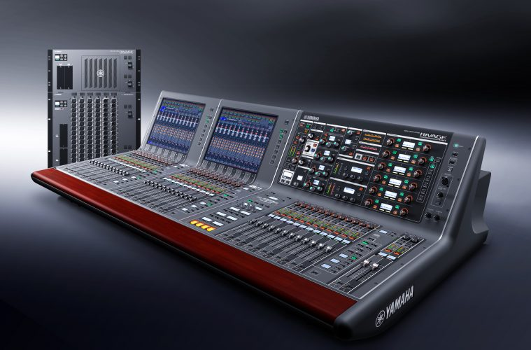 yamaha professional audio celebrates 30 years of digital mixers. Black Bedroom Furniture Sets. Home Design Ideas
