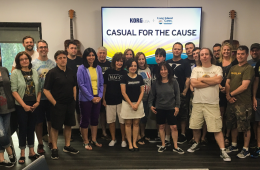 Casual for a cause 2017 Korg USA