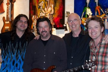 Brian Meader, George Fuller, Paul Reed Smith, Shane Frame