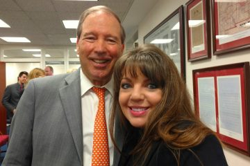 Cindy and NM Senator Tom Udall