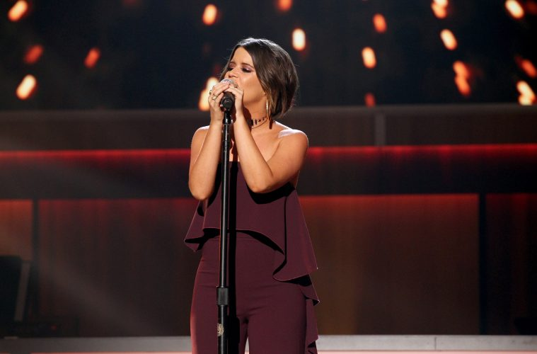 NASHVILLE, TN - AUGUST 23: Maren Morris performs onstage during the 11th Annual ACM Honors at the Ryman Auditorium on August 23, 2017 in Nashville, Tennessee. (Photo by Terry Wyatt/Getty Images for ACM)