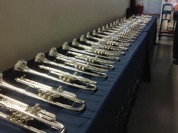 Zeswitz Music just added the 18,000th instrument to its rental fleet — let the trumpets blare!