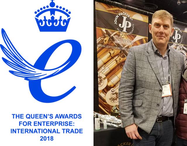 John Packer Earns UK's Highest Business Award