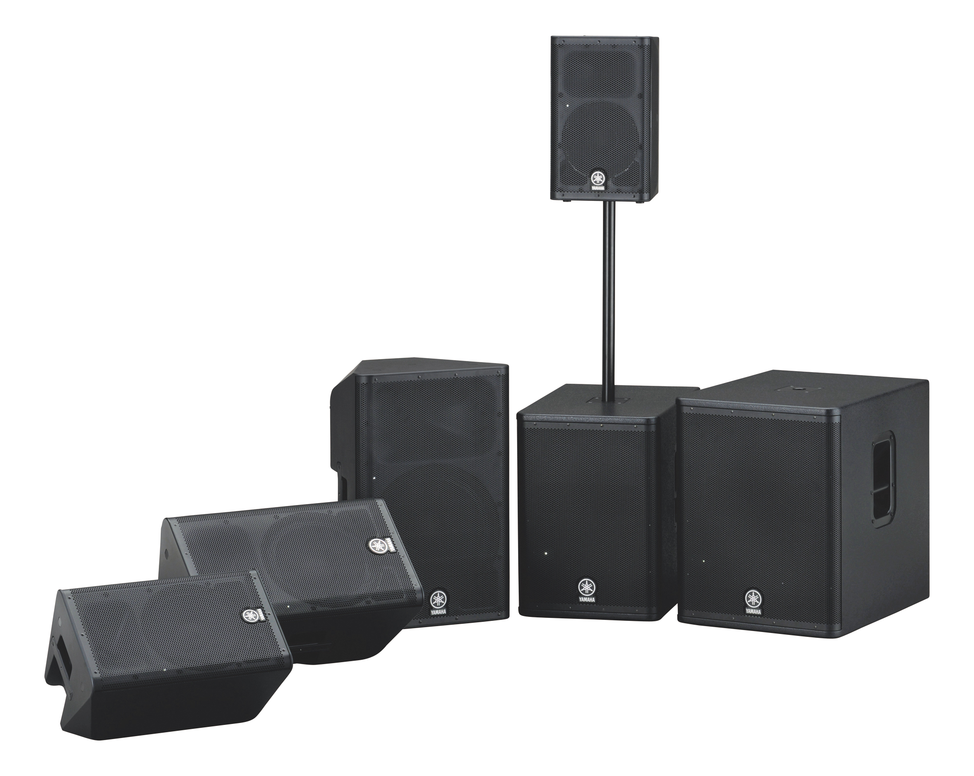 Yamaha's DXR And DXS Speakers And Subs
