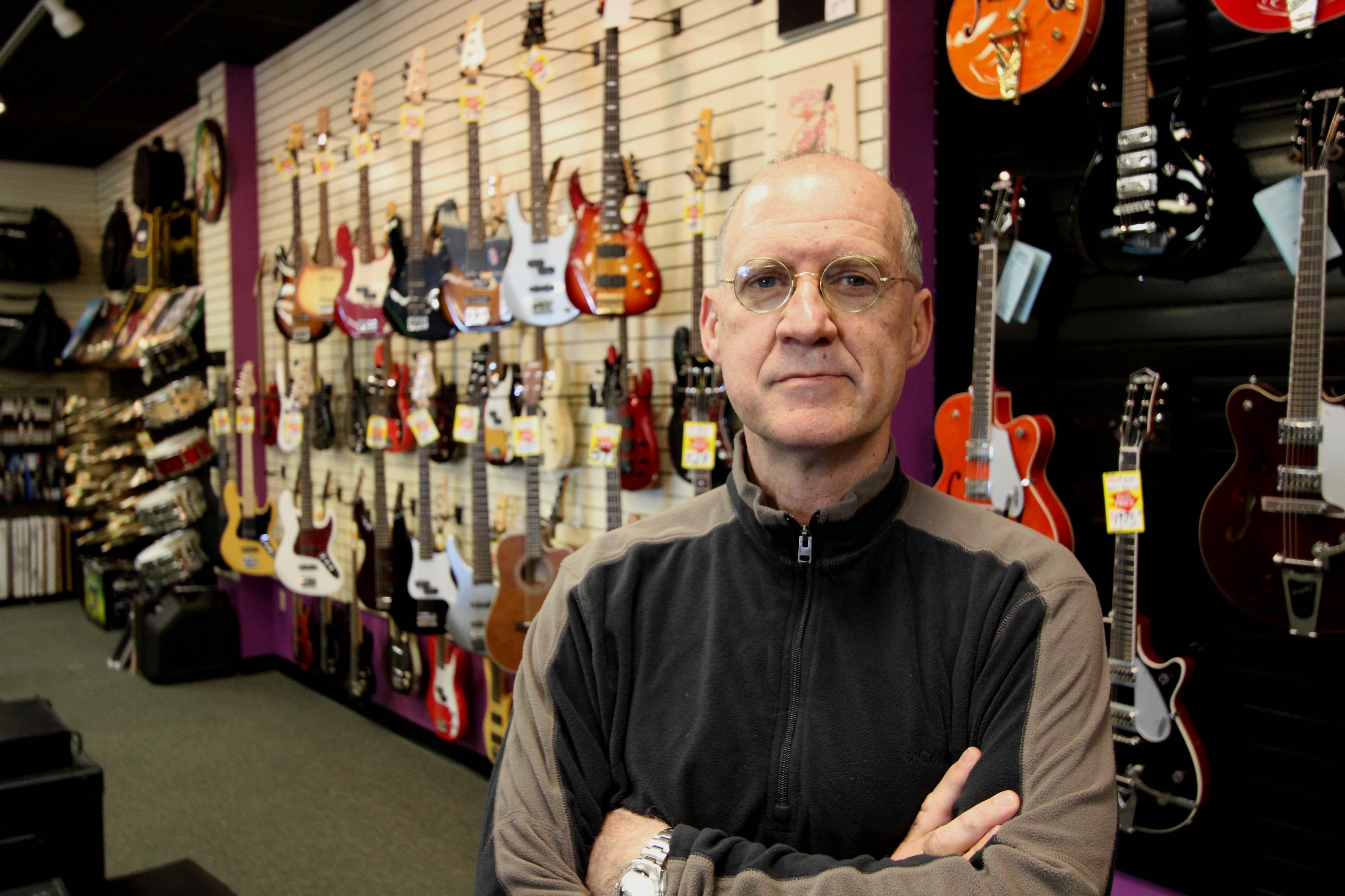 Jim DeStafney bass wall