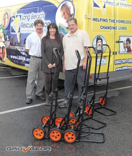 Gruv Gear Donates Dollies