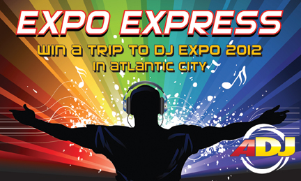 American DJ's 'Expo Express' Contest