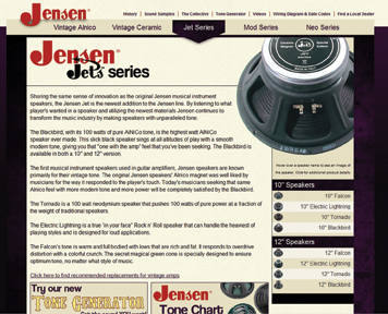 Jensen Launches Updated Site