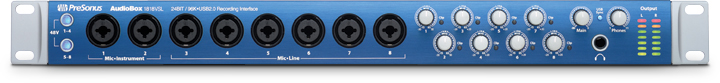 AudioBox VSL-Series Interfaces