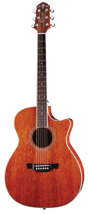 Crafter's Two All-Mahogany Guitars