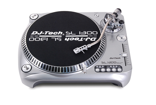 DJ Tech's SL1300 MK6 Turntable