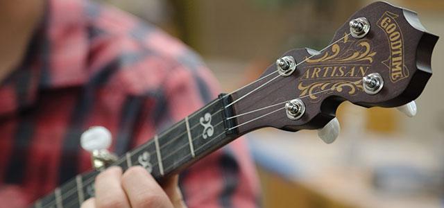 Deering Banjo Company's Artisan Goodtime Banjos