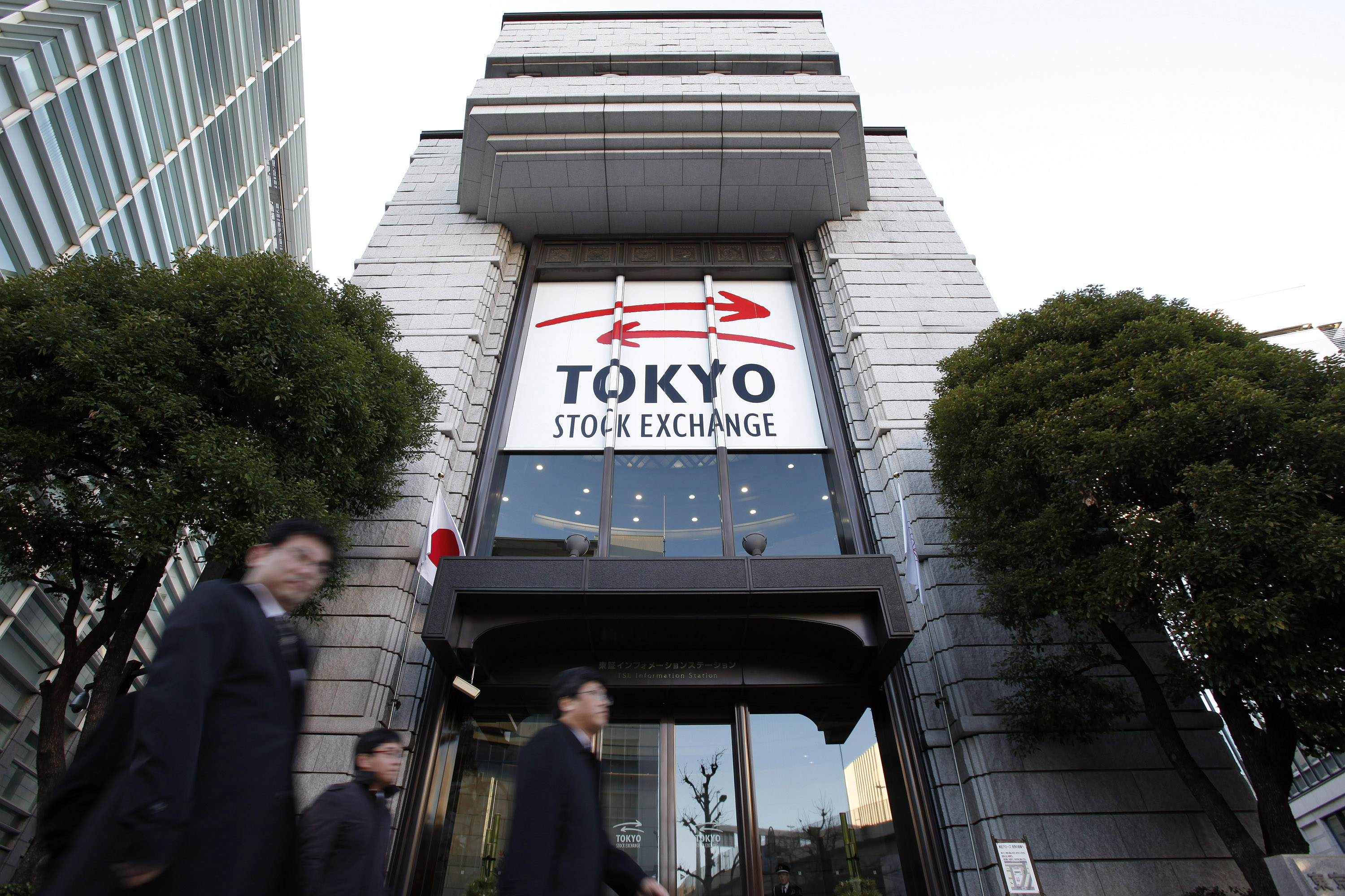 First Trading Day For 2013 As Japan Exchange Group Starts Trading On Tokyo  Stock Exchange