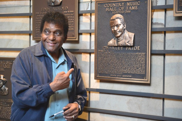 Charley Pride Country Music Hall of Fame
