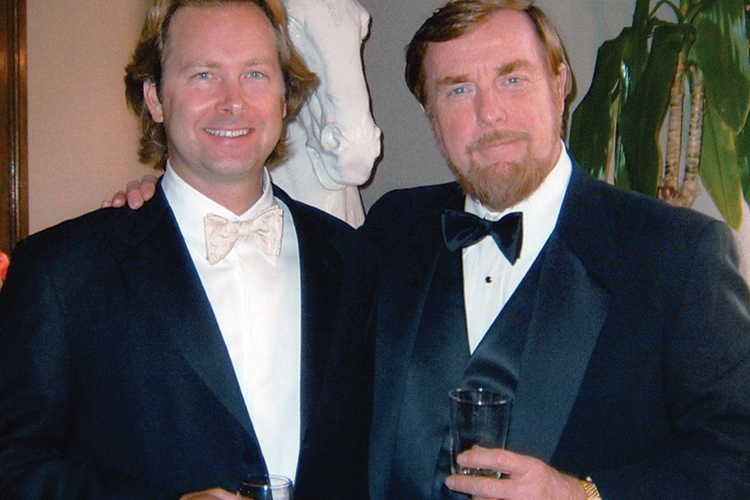 Founder and CEO Hartley Peavey and Chief Operating Officer Courtland Gray.
