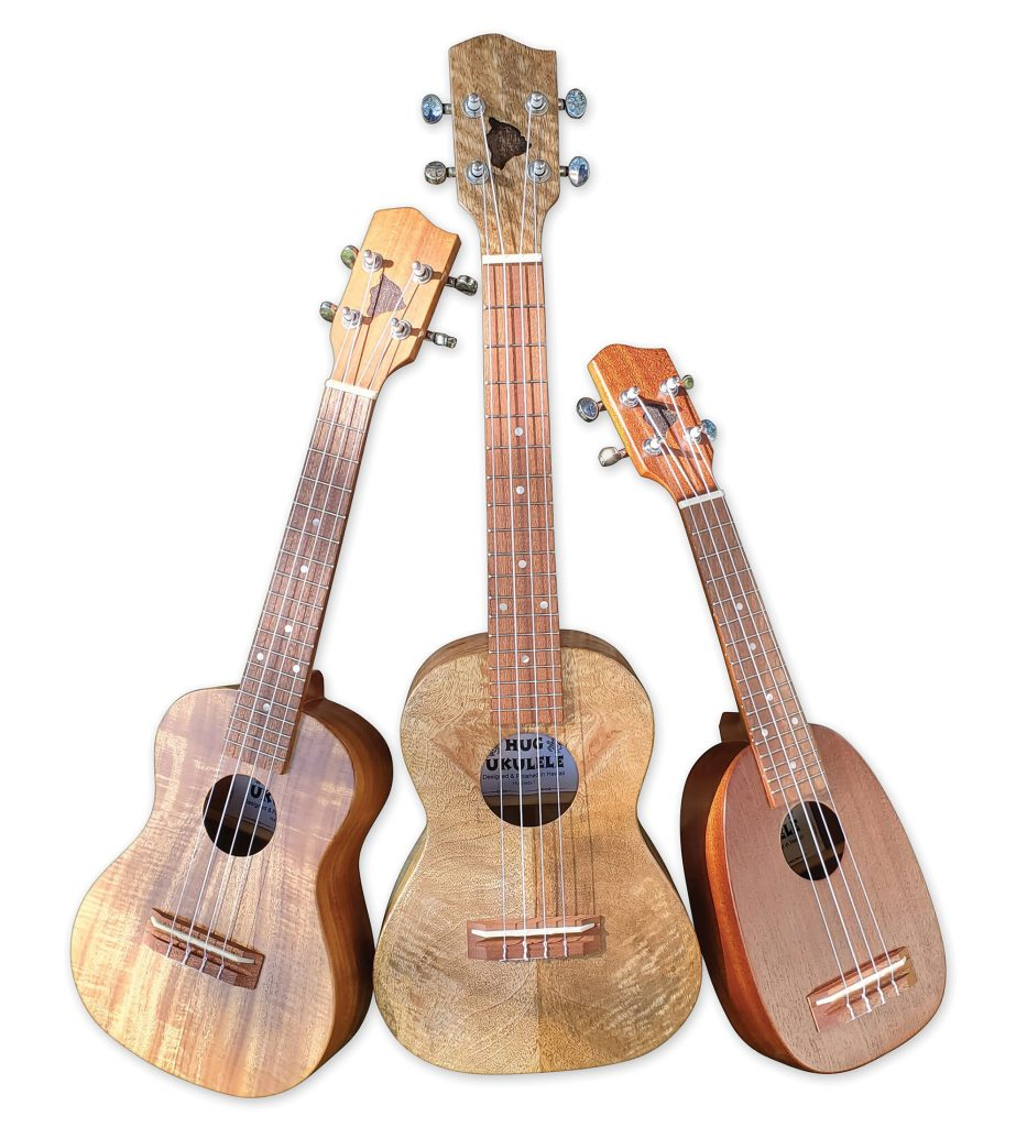 HUG Ukulele Exotic Mango Wood Series