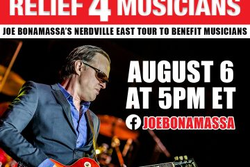Guitar Center, Relief 4 Musicians, Joe Bonamassa
