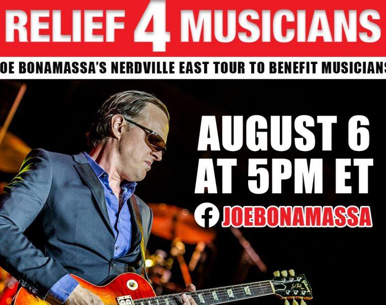 Guitar Center, Relief 4 Musicians, Joe Bonamassa