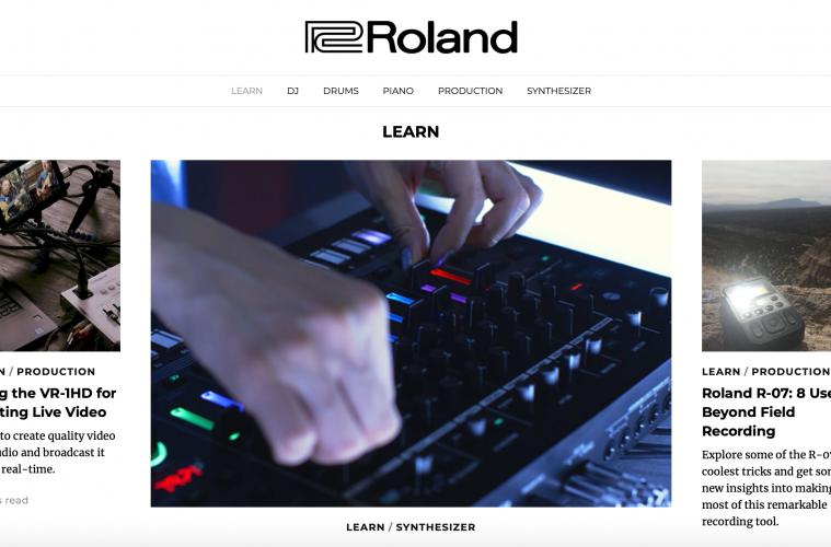 Roland, Roland Articles