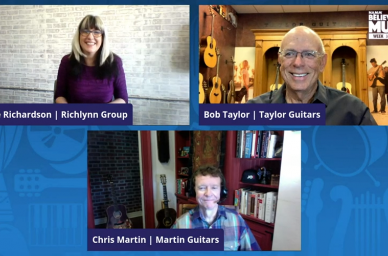 Believe in Music Week panel, Industry Titans