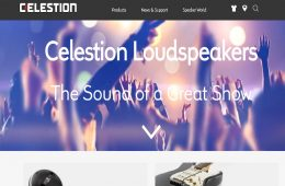 Celestion launches new website