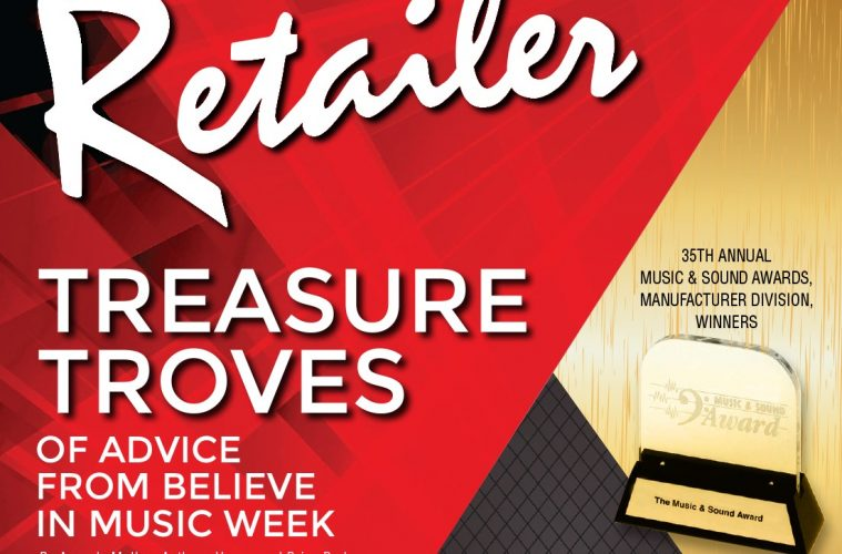 Music & Sound Retailer Cover March 2021