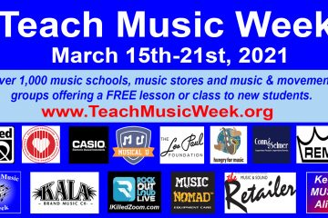 Seven Annual Teach Music Week, KeepMusicAlive