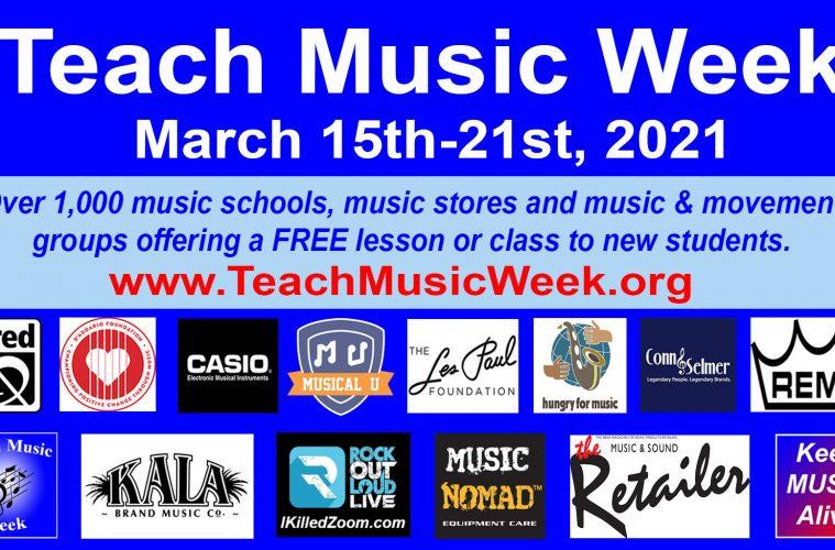 Seven Annual Teach Music Week, KeepMusicAlive