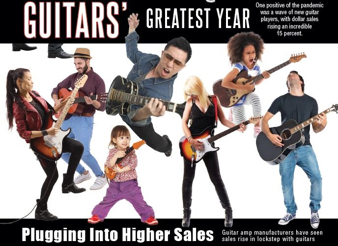 The Music & Sound Retailer, April 2021 Edition, Guitar Issue