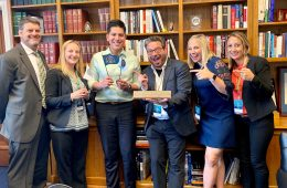 NAMM advocates from California on Capitol Hill in 2019