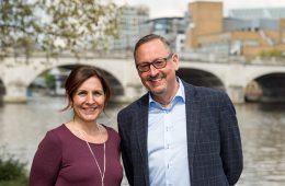 Interfacio directors Isabelle and Richard Wear