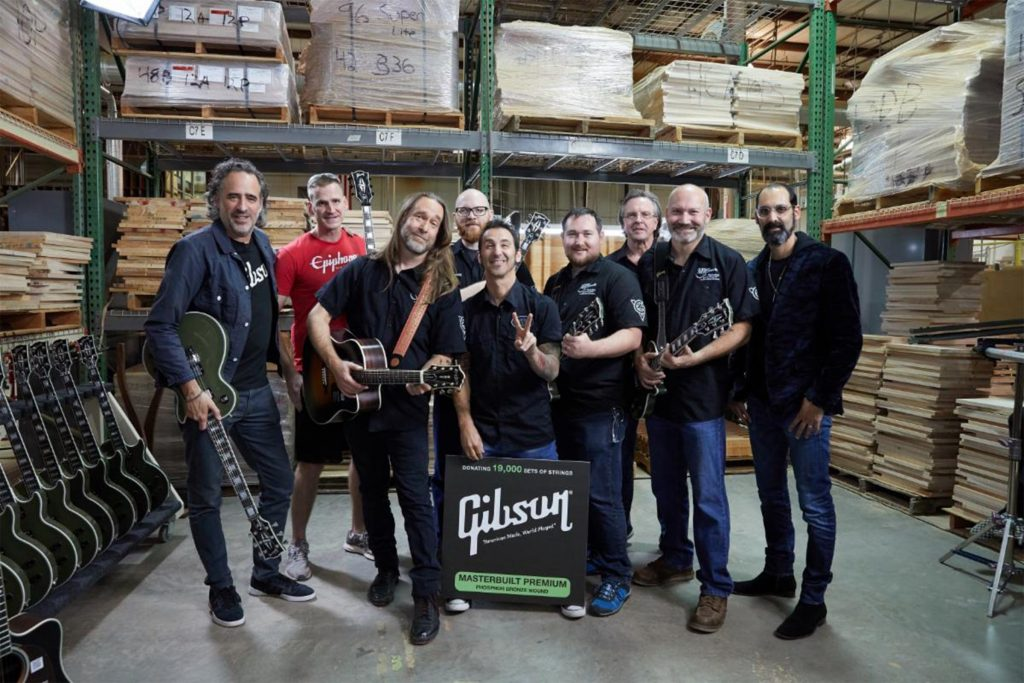 gibson employees and veterans