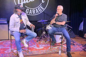 James Curleigh and Joe Lamond dicuss the newest gibson garage