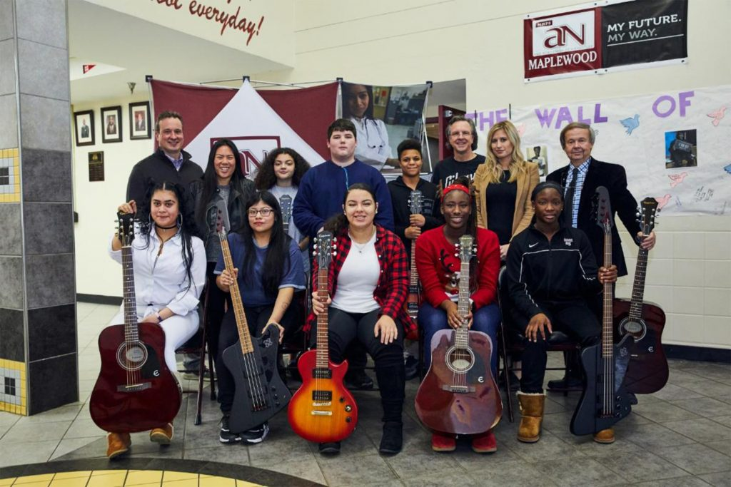 music students at maplewood high school in nashville tennessee