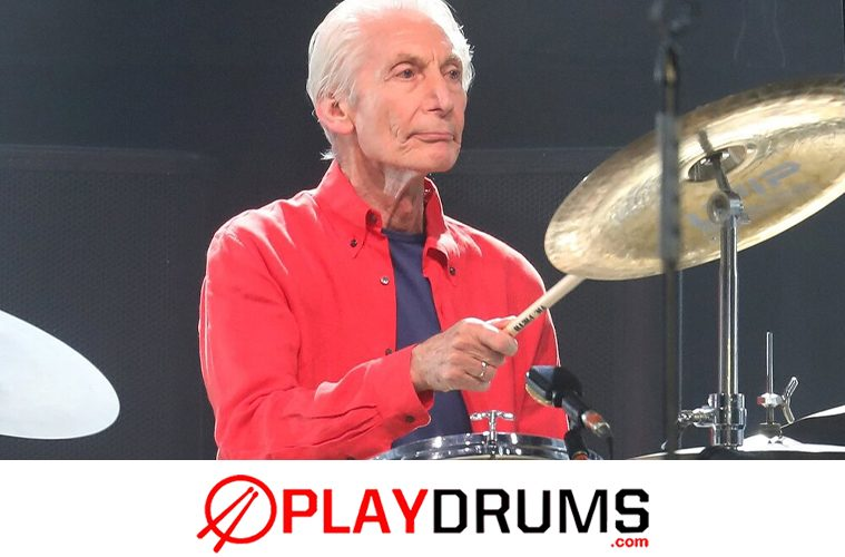 charlie watts rolling stones drummer