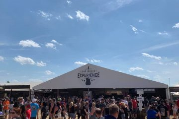 the music experience's mobile event space